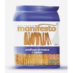 Хлебная соломка MANIFESTO с солью, 150 г