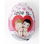 Яйцо шоколадное с игрушкой LOVE IS, 20 г