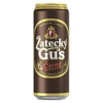 Пивной напиток ZATECKY GUS Cerny темное в железной банке, 0,45л