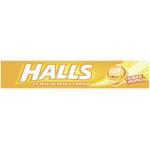 Леденцы HALLS мёд с лимоном, 25г