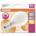 Лампа LED груша OSRAM DIM 6,5W E27, теплый свет