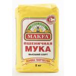 Мука MAKFA высший сорт, 2 кг