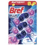 Подвесной блок для унитаза BREF Цветочная свежесть в упаковке, 3х50г