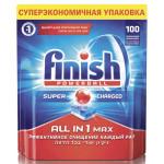 Таблетки для посудомоечных машин FINISH Powerball в упаковке, 100шт