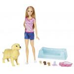 Игровой набор собака и щенята BARBIE