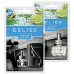 Автомобильный ароматизатор DELISS + сменный блок в комплекте