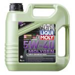 Моторное масло с присадками LIQUI MOLY Molygen 5W-40, 4л