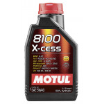 Моторное масло MOTUL 8100 X-cess 5W40, 1 л