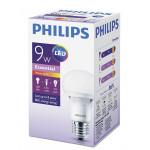 Лампа PHILIPS LED 9W E27, теплый свет
