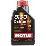Моторное масло MOTUL 8100 X-clean FE 5W30, 1 л