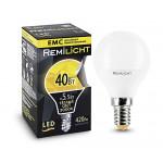 Лампа LED шар REMILICHT 5,5W E14, теплый свет