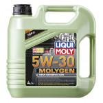 Моторное масло с присадками LIQUI MOLY Molygen 5W-30, 4л