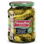 Огурчики маринованные GREEN RAY Аппетитные, 720г