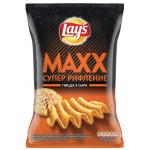 Чипсы LAYS Maxx пицца 4 сыра супер рифление, 145г