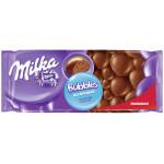 Шоколад молочный MILKA пористый, 80г