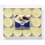 Свечи чайные РСМ Ваниль в упаковке, 24 шт