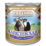 Сгущенное молоко вареное АЛЕКСЕЕВСКАЯ Варенка с сахаром 8,5%, 370г