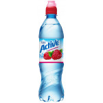 Питьевая вода AQUA MINERALE Active Малина, 0,6 л