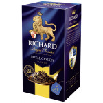 Чай RICHARD Royal Ceylon черный, 25х2г