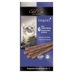 Деликатесные колбаски EDEL CAT с лососем и форелью 30 г, 6 шт