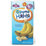 Нектар ФРУТОНЯНЯ с 6+ месяцев из бананов с мякотью, 200г