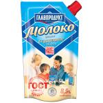 Молоко ГЛАВПРОДУКТ сгущенное цельное с сахаром ГОСТ 8,5% дой-пак, 270 г