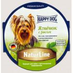 Паштет для собак HAPPY DOG Ягненок с рисом, 85 г