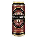 Пиво БАЛТИКА №9 крепкое в железной банке, 0.45 л