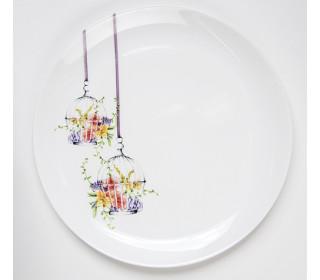 Тарелка обеденная LUMINARC Флора, 27 см
