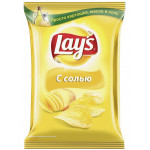 Чипсы LAYS натуральные с солью, 150 г