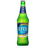 Пиво EFES PILSENER в бутылке, 0.45 л