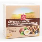 Батончик мюсли FINE LIFE Фундук и темный шоколад, 24 г