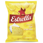 Чипсы ESTRELLA сметана и сыр, 60 г