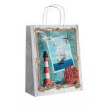 Эко сумка Море, 25*32*11 см