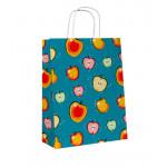 Эко сумка Яблоки, 25*32*11 см