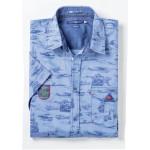 Рубашка мужская с коротким рукавом RICARDO RICCI