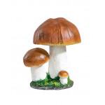 Фигура декоративная Белый гриб тройной, 32 см