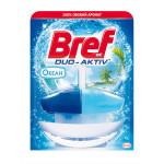 Подвесной туалетный блок BREF Duo Aktiv Океан, 50 мл