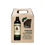 Виски JAMESON с бокалом в подарочной упаковке, 0,7л
