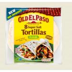Пшеничные лепешки OLD EL PASO Тортилья, 326г