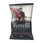 Чипсы TYRRELLS с морской солью и черным перцем, 150г
