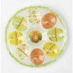 Тарелка для пасхальных яиц EASTER стекло, 20 см