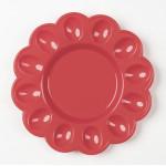 Тарелка пасхальная пластиковая, 23.5 см