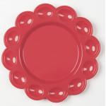 Тарелка пасхальная пластиковая, 28 см
