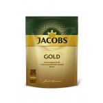 Кофе растворимый JACOBS GOLD , 140 г