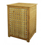 Корзина для белья с крышкой Бамбук, 40*40*58 см
