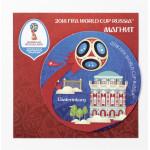 Магнит виниловый 2018 FIFA World Cup™ Екатеринбург