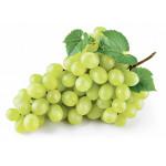 Виноград белый без косточек в корзинке
