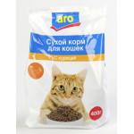Сухой корм для кошек ARO С курицей, 400 г