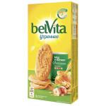 Печенье BELVITA Утреннее Мед и фундук, 225г